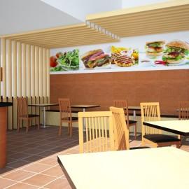 Estudio Cipollina Dise O De Restaurante De Comida R Pida